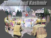 Protest irrupted in JK on Eid