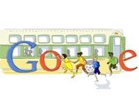 Google Rosa Park doodle