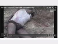 Sri Lanka war crime video