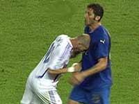 Zidane Materazzi headbutt