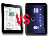 Apple iPad Vs Motorola Xoom