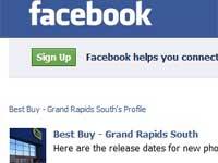 Best Buy Grand Rapids South (Facebook) screen shot
