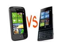 HTC Mozart Vs Dell Venue Pro