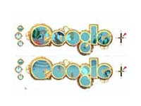Google doodle on Jules Verne's birthday