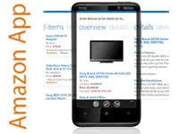 Amazone WP7 app screen-shot
