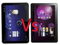 Motorola Xoom Vs Samsung Galaxy Tab 10.1