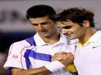 Federer, Djokovic, Image: Getty