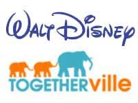 Walt Disney and Togetherville logos