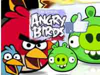 Angry Birds Facebook page screenshot