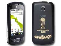 LG Optimus One Cricket WC Edition mobile