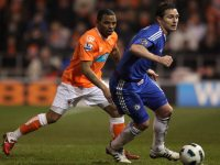 Frank Lampard against Blackpool, Image: Getty