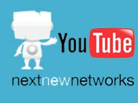 Next New Network and YouTube logo