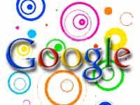 Google logo in circles