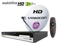 Videocon d2h 3D