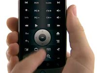 Google TV remote app - Screenshot