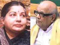 Jayalalithaa and Karunanidhi