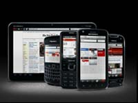 Opera Mobile web browsers
