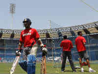 Team India in Wankhede stadium