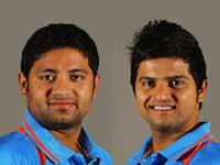 Piyush Chawla and Suresh Raina