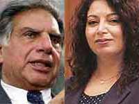 Ratan Tata and Niira Radia