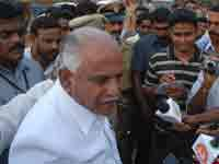 BSY with media persons