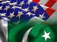 USA and Paskistan flags