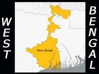 West Bengal map