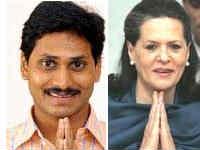 YSR and Sonia Gandhi