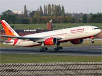Air India flight
