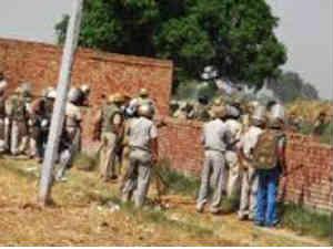 Noida farmers' stir