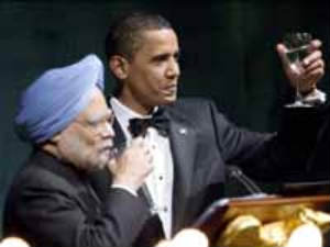 Manmohan Singh and Barack Obama