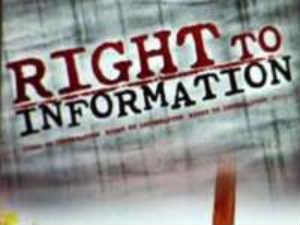 Right to information poster