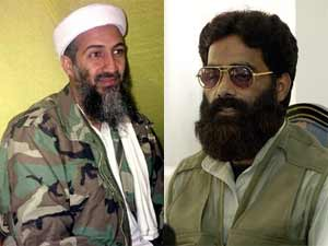 bin Laden and Ilyas Kashmiri
