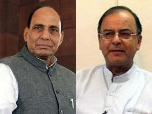 Rajnath Singh and Arun Jaitley
