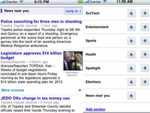 News Near You screenshots