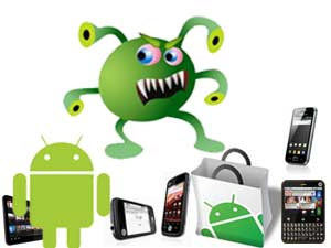 Android malware attack