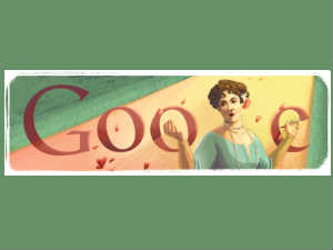 Doodle on Dame Nellie Melba 150th birth day