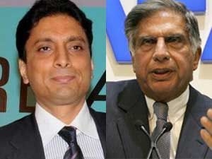 Shahid Balwa and Ratan Tata