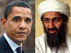 Barack Obama and Osama bin Laden