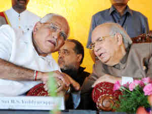 BS Yeddyurappa and HR Bharadwaj