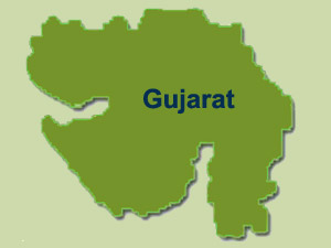 Gujarat map