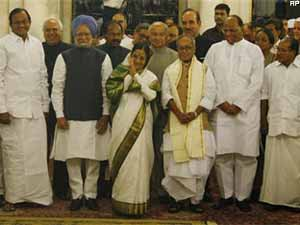 UPA-II government cabinet ministers