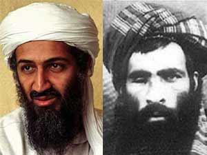 Bin Laden and Mullah Omar