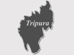 Tripura map