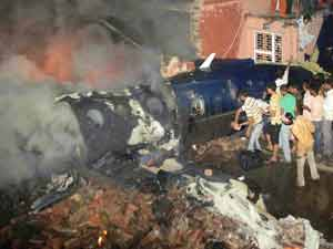 Faridabad air crash