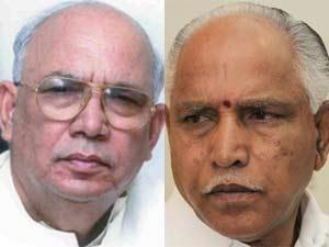 BS Yeddyurappa and HR Bharadwaj
