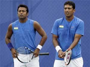 Leander Paes and Mahesh Bhupati