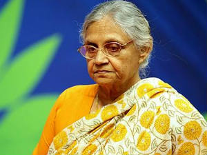 Sheila Dikshit, CM of Delhi