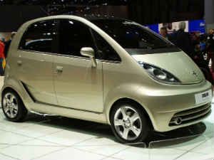 Tata Motors' low-cost car Nano