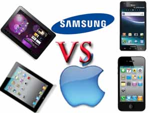 Samsung Galaxy Tab, Infuse 4G vs Apple iPad 3, iPhone 4